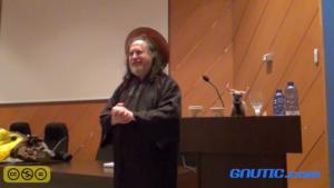 Richard Stallman San IGNUcio