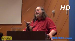 Richard Stallman en Ourense 09/12/2013