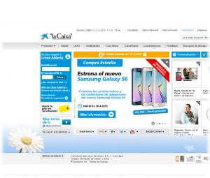 Clon de la web LaCaixa.es