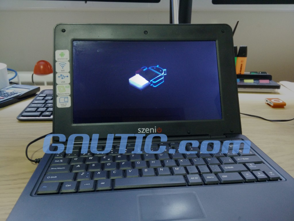Reinstalación de Android en Netboook Szenio PC 12700